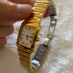Vintage Gold Plated Coach Wristwatch
